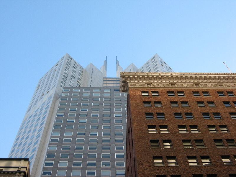 345 California Street - Tweezer Tower